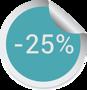 25% скидка
